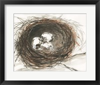 Framed Nesting Eggs III