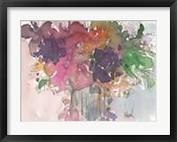 Framed Floral Charm I