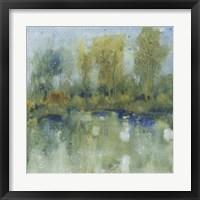 Framed Pond Reflection I