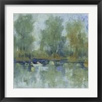 Framed Pond Reflection II