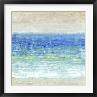 Framed Ocean Impressions I