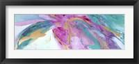 Framed Magenta Colores II