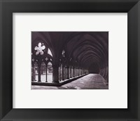 Framed Eng. Cathedral Salisbury Cloisters