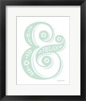 Framed Relax Mint