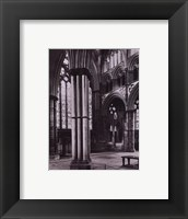 Framed Lincoln Cathedral Angel Choir 1895