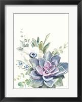 Framed Desert Bouquet I