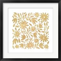 Framed Otomi Floral Elegance I