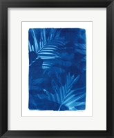 Framed Cyanotype Tropical IV