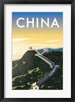 Framed China