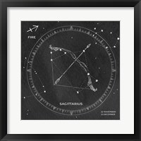 Framed Night Sky Sagittarius v2