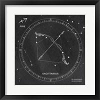 Framed Night Sky Sagittarius v2