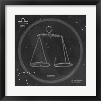 Framed Night Sky Libra v2