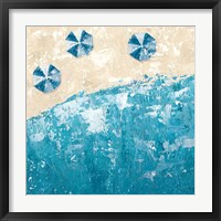 Framed Beach Days Blue