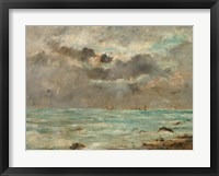 Framed Coast at Trouville, c. 1865-1900