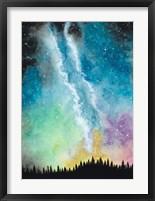 Framed Magical Night Sky