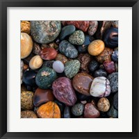 Framed Ocean Rocks I