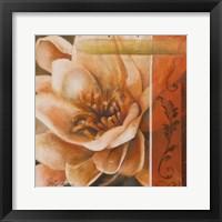 Framed Flor de Loto I