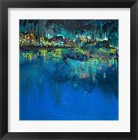 Framed Lake Butler Abstract