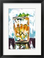 Framed Drink on the Rocks