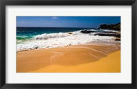 Framed Oahu Shore Waves