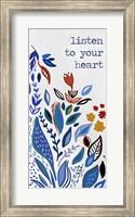 Framed Listen to your Heart