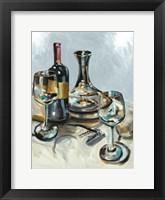 Framed Wine with Dinner II