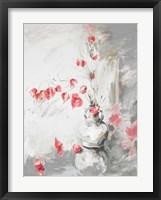 Framed Red Roses I