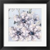 Framed Bunched Flowers I