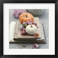Framed Florals In Fall