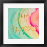Framed Chic Glitter I