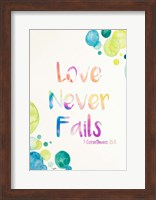 Framed Love Never Fails