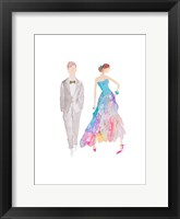 Framed Ballroom Couple