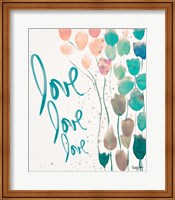 Framed Ballooned Love