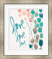 Framed Ballooned Love