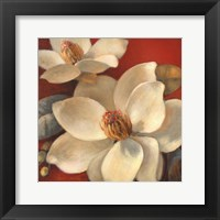 Framed Magnolia Passion I