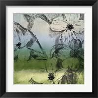 Framed Green Bella Natura I