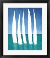 Framed Tall Sailing Boats