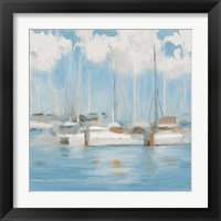 Framed Golf Harbor Boats I