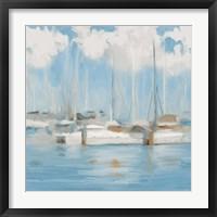 Framed Golf Harbor Boats I
