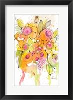 Framed Bursting Wildflowers I