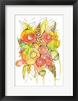 Framed Bursting Wildflowers II