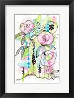 Framed Blooming Summer I