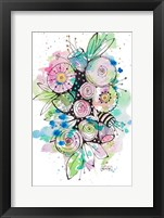 Framed Blooming Summer II
