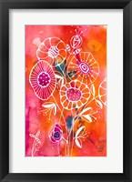Framed Brightest Blooms