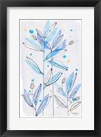 Framed Botanical Stamp I