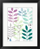 Framed Botanics I