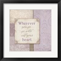 Framed All Your Heart