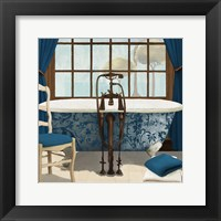 Framed Blue View I