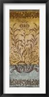 Framed Floral Imprints I