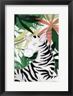 Framed Hidden Zebra